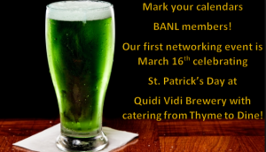 Paddy's Day Mixer